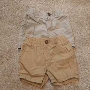 Set of 2 Toddler Boys Chino Shorts